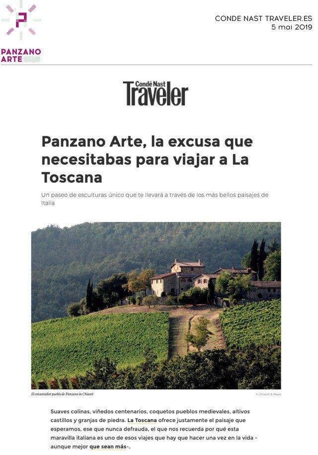 Conde Nast Traveler - Spain<br>05/05/2019