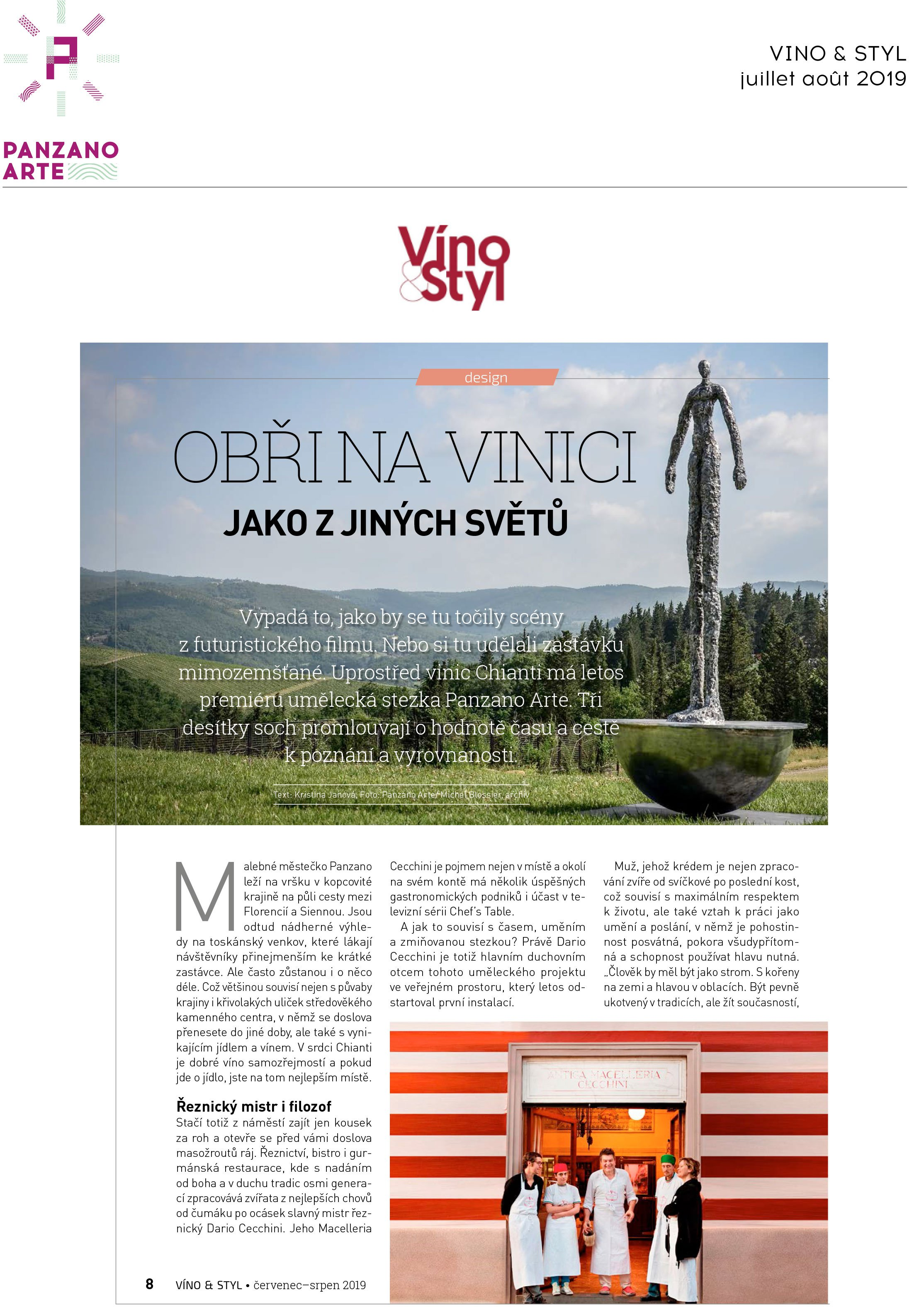 Vino&Styl<br>July/August 2019