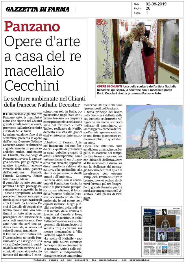 La Gazzetta di Parma<br>02/08/2019