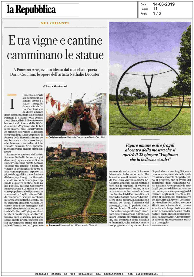 La Repubblica Week-end<br>14/06/2019